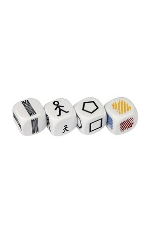 Dice - Attribute Set (4p) 22mm
