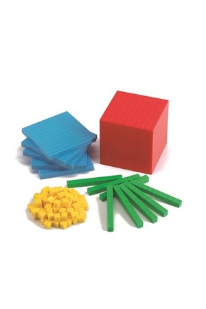 Plastic Base Ten (4 Colour) - Boxed