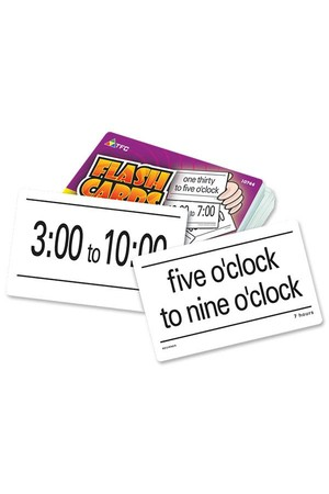 Flash Cards - Elapsed Time