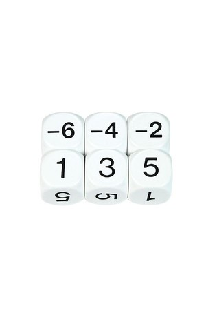 Dice - Sum Negative: Even (22mm)