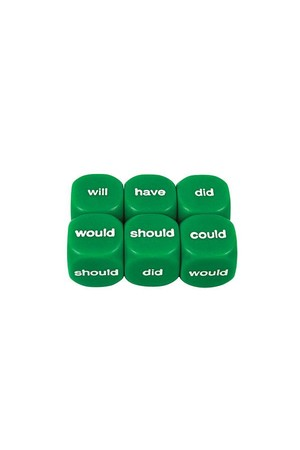 Dice - Helping Verbs: Past (16mm)