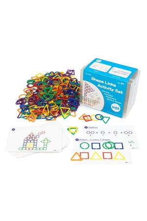 Shape Links Activity Set - Set of 4
