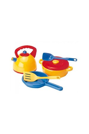 Dantoy - Kettle and Pans Set