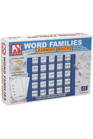 COKO - Word Families (25 Pieces)