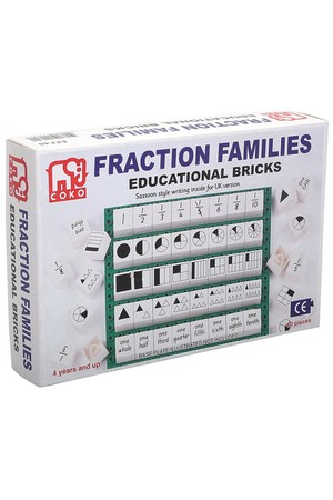 COKO - Fraction Families (Set of 40)