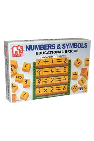 COKO - Numbers and Symbols (Set of 36)