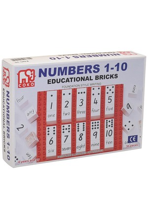 COKO - Numbers 1-10 Set of 30