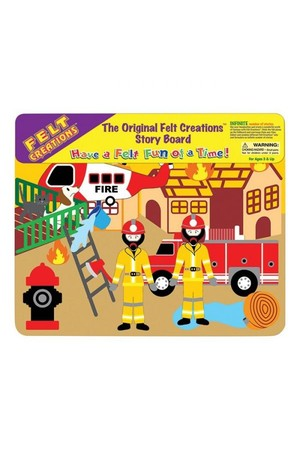 Fire Engine - Felt Creations
