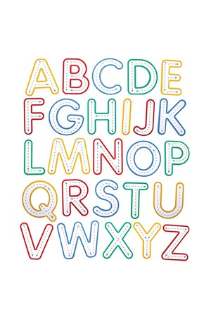 Write and Wipe Letters - Uppercase