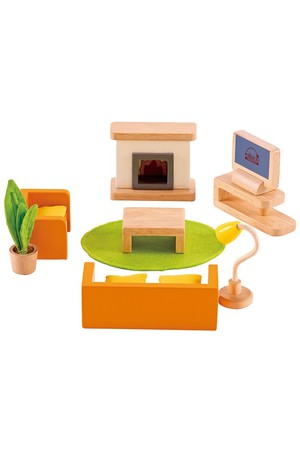 All Seasons Dollhouse - Family Media Room