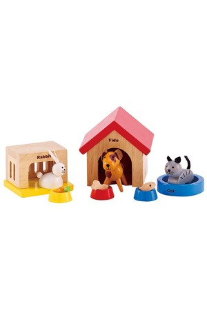 All Seasons Dollhouse - Family Pet Set