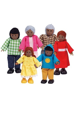 Dolls - African Family
