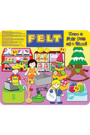 Toy Shop - Felt Creations
