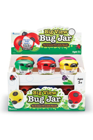 Big View Bug Jars - Set of 12