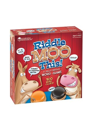 Riddle Moo This! - A Silly Riddle Word Game
