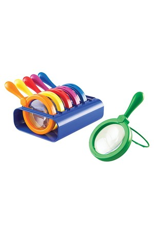 Jumbo Magnifiers with Stand - Set of 6