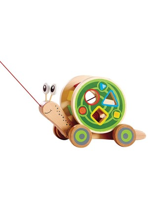 Snail Pull and Play Shape Sorter