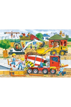 40 Piece Maxi Puzzle - Construction Site