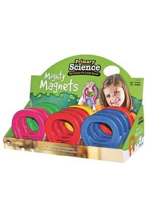 Primary Science Mighty Magnets - Set of 12