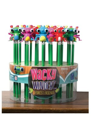 Wind Up Pencil Toppers - Forest Friends: Set of 24