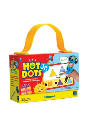 Hot Dots - Shapes Cards