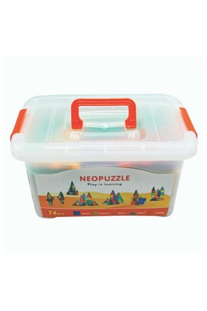 Neopuzzle - Set (74 Pieces)