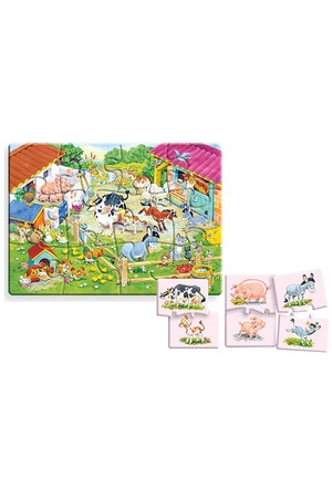 24 Piece Education Puzzle - Mother and Baby