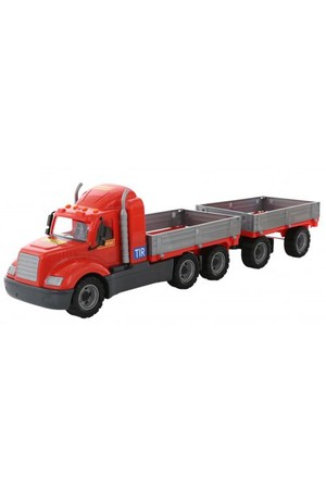 Ramp Truck With Trailer