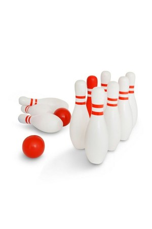 Red & White Bowling