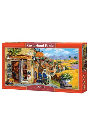 4000 Piece Puzzle - Colours of Tuscany
