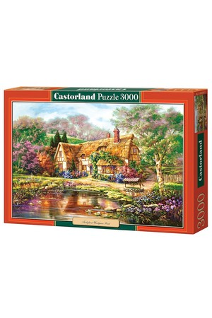 3000 Piece Puzzle - Twilight at Woodgreen Pond