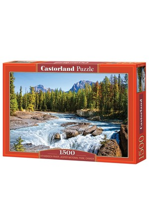 1500 Piece Puzzle - Athabasca River
