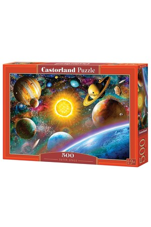 500 Piece Puzzle - Outer Space