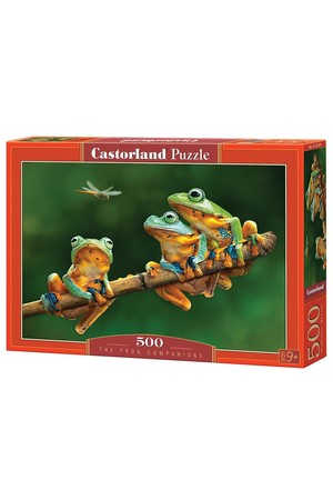 500 Piece Puzzle - The Frog Companions