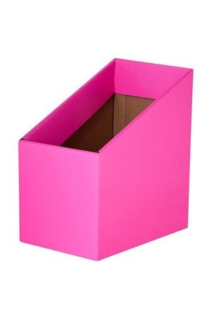 Book Box (Pack of 5) - Fluoro Pink
