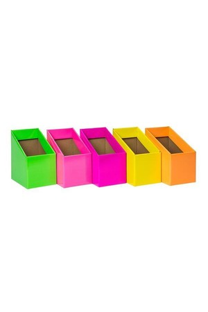 Book Box (Pack 5) - Mixed Fluoro
