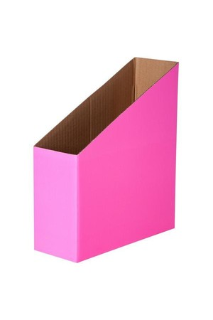 Magazine Box (Pack of 5) - Fluoro Pink