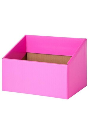 Reading Box (Pack of 5) - Fluoro Pink