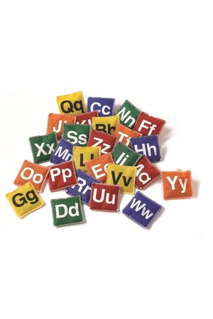 Alphabet Bean Bags - A to Z