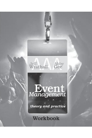 Event Management: Theory and Practice - Workbook