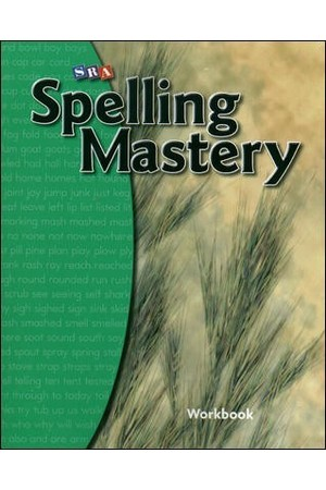 Spelling Mastery - Level B (Grade 2): Student Workbook