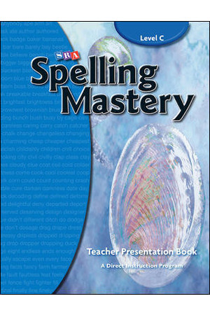 Spelling Mastery - Level C (Grade 3): Teacher Materials