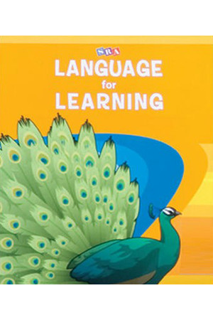 Language For Learning - Language Activity Masters: Book 1