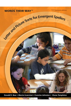 Words Their Way - Companion Volume: Letter and Picture Sorts for Emergent Spellers