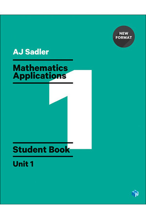 Sadler Mathematics Applications for WA - Unit 1: Student Book (Print & Digital)