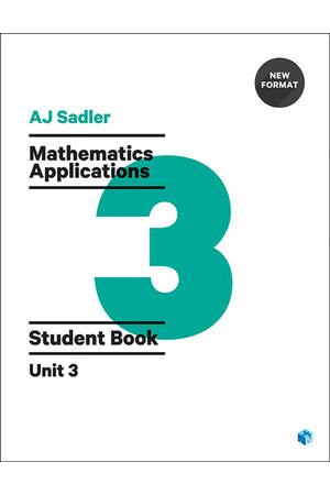 Sadler Mathematics Applications for WA - Unit 3: Student Book (Print & Digital)