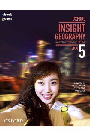 Oxford Insight Geography AC for NSW - Stage 5: Student Book + obook/assess (Print & Digital)
