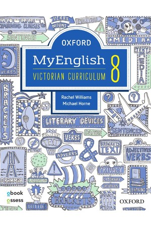 Oxford MyEnglish VIC Curriculum - Year 8: Student Book + obook/assess + Upskill (Print & Digital)
