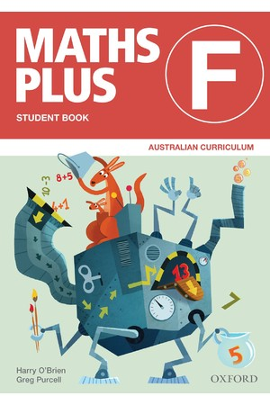 Maths Plus Australian Curriculum Edition - Student & Assessment Book: Foundation
