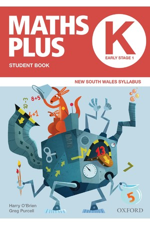 Maths Plus NSW Syllabus - Student & Assessment Book: Kindergarten